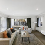 living room home staging Auckland